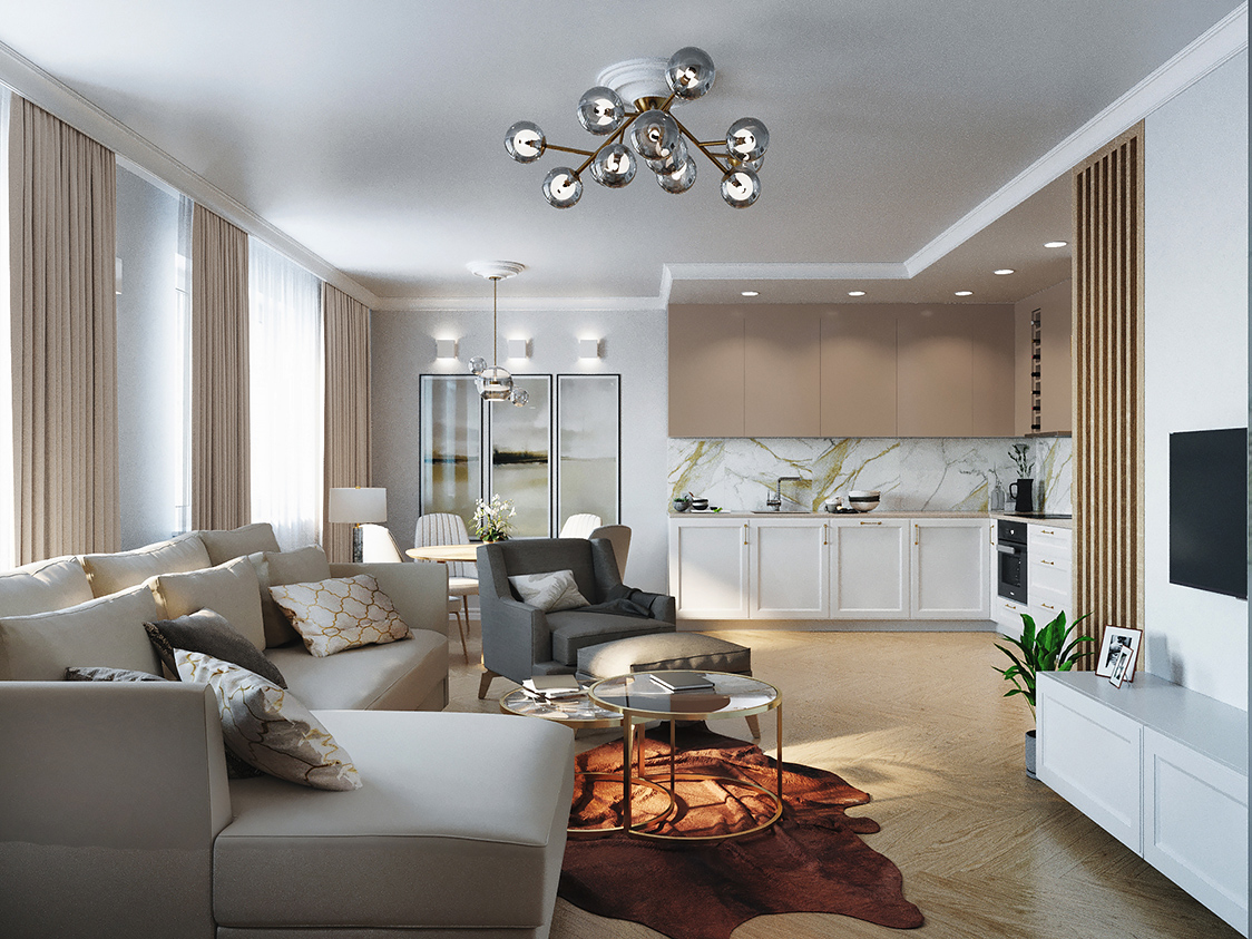 Mieszkanie Promenady Wrocławskie